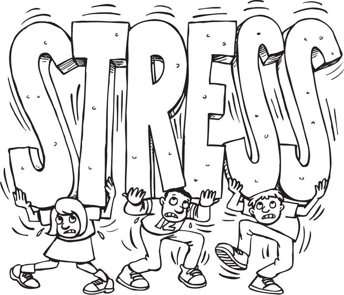 carring stress around