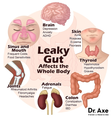 dr axe leaky gut affects